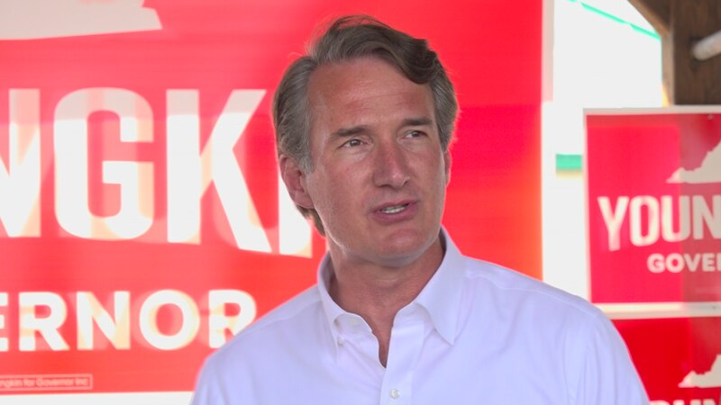 Republican candidate for Governor Glenn Youngkin promises new direction in Richmond.
