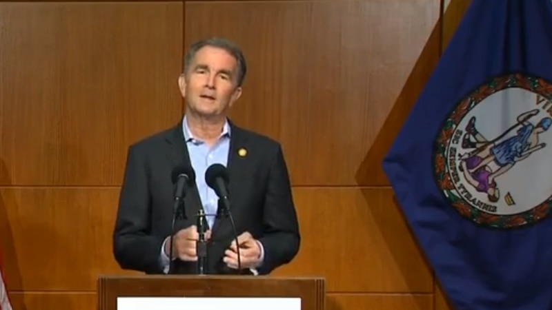 Governor Northam talks about COVID in Virginia May 6, 2021
