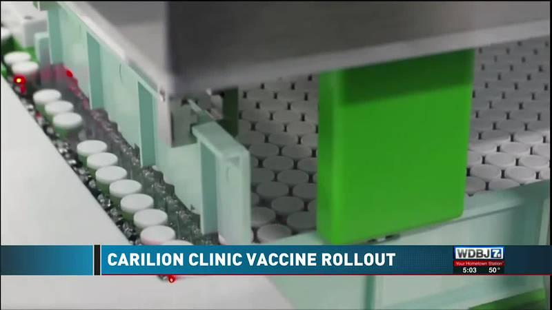 Carilion Vaccine Rollout