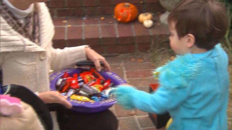 Health officials say door-to-door trick-or-treating is a still a safe Halloween activity...