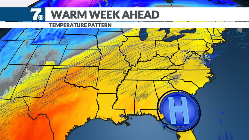 Highs return to 60s and 70s.