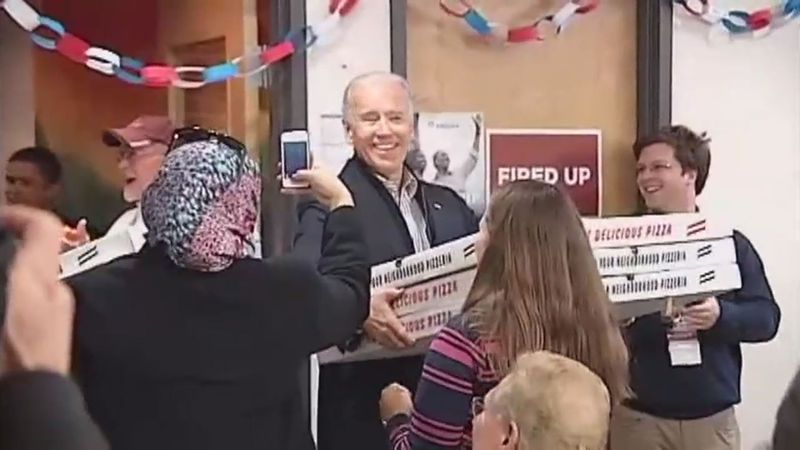 Joe Biden's visits to western Virginia have provided many memorable moments.