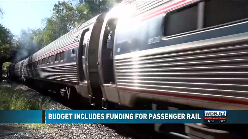 Funds For Passenger Rail Between Roanoke And Christiansburg