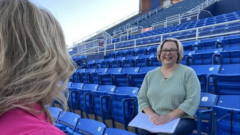 As the Salem Red Sox begin their season fan Melissa Davis said she's thrilled baseball is back!