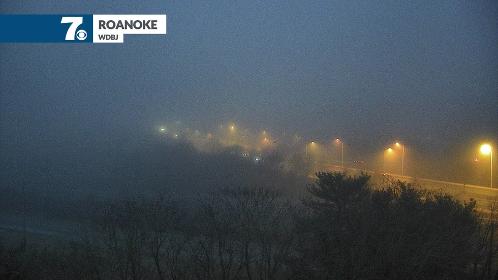 Visibility could be reduced significantly at times tonight.