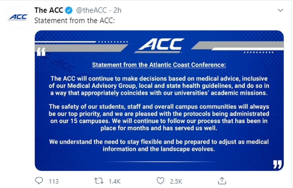 Courtesy @theACC/Twitter