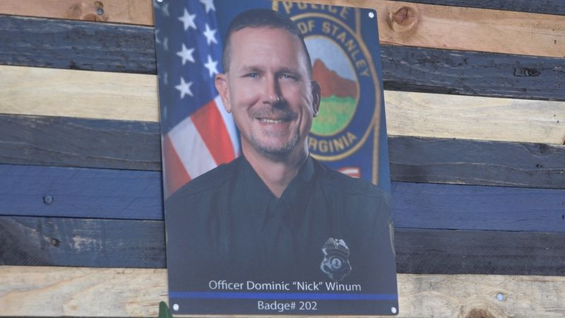 "Stanley Police Officer Dominic ""Nick"" Winum"