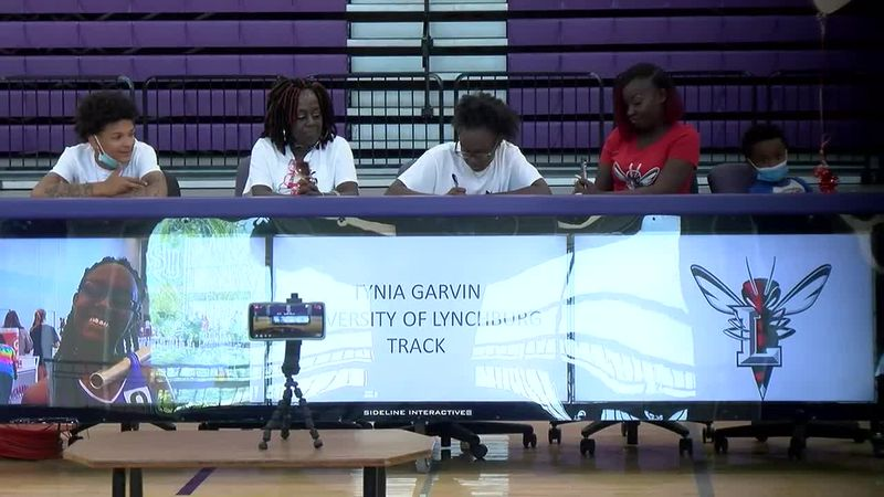 Patrick Henry Signing Day