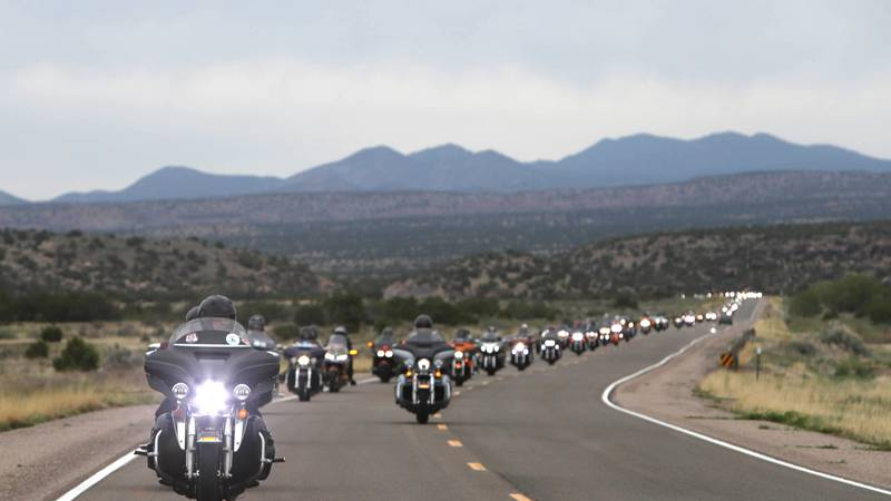 Former NASCAR driver, Kyle Petty hosts annual charity ride with fellow motorcycle enthusiasts...