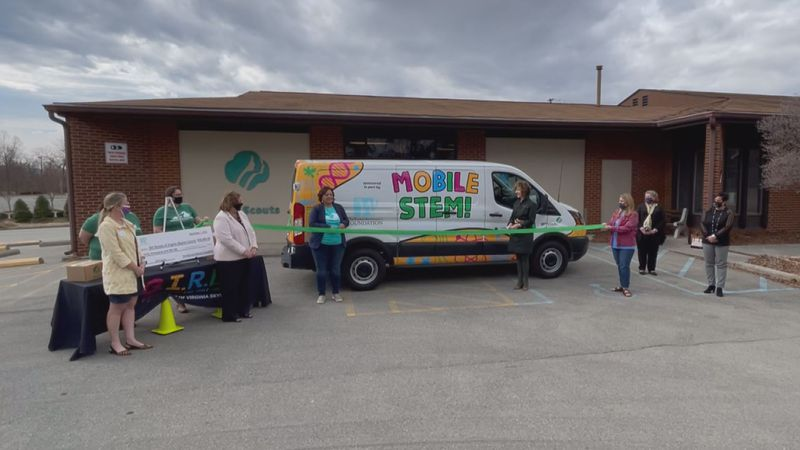Girl Scouts of Virginia Skyline Council is taking STEM education on the road, with a new van...