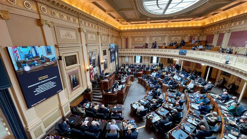 Virginia lawmakers returned for day two of a special session that will allocate more than $4...