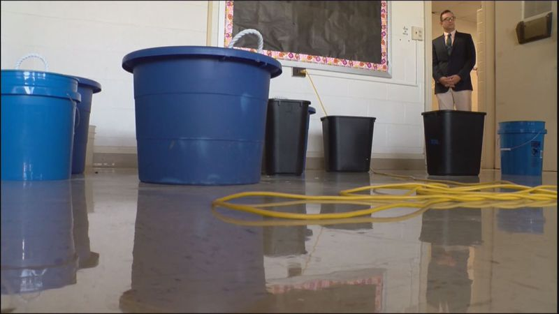Sen. Bill Stanley is sponsoring legislation that would help repair or replace outdated schools...