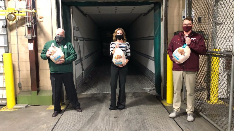 They came complimentary of Kroger as part of the Touchdown for Turkeys campaign in which the...
