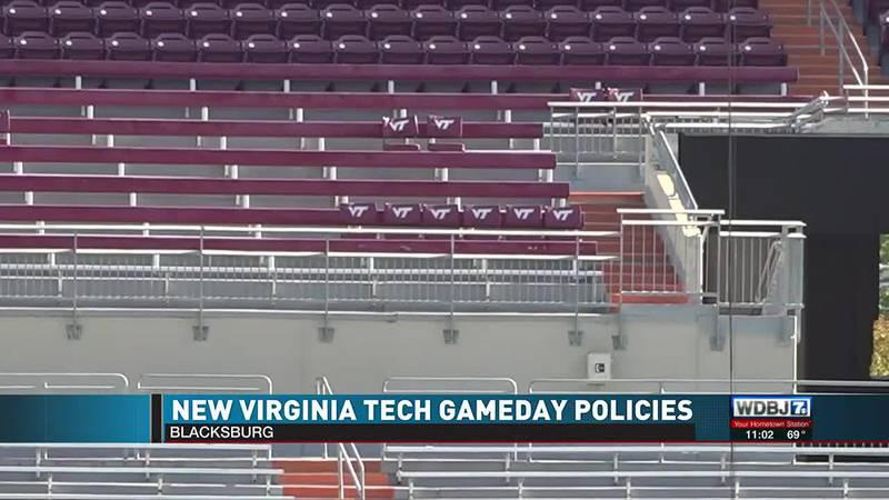 Lane Stadium Gameday Changes