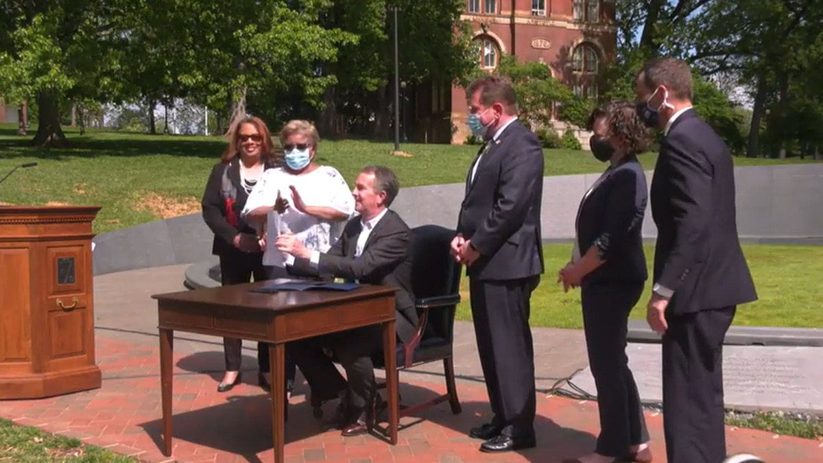 Governor Ralph Northam signed a bill that establishes the Enslaved Ancestors College Access...