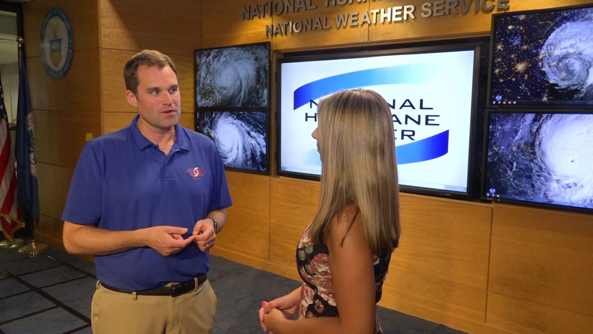 Alana Austin gets a behind-the-scenes tour around the National Hurricane Center in Miami. Experts there predict a busier-than-normal tropical storm season between now and November. So far, Hurricane Dorian hitting as a deadly Category 5 storm in the Bahamas has put coastal communities along the East Coast on high alert. (Source: GrayDC)