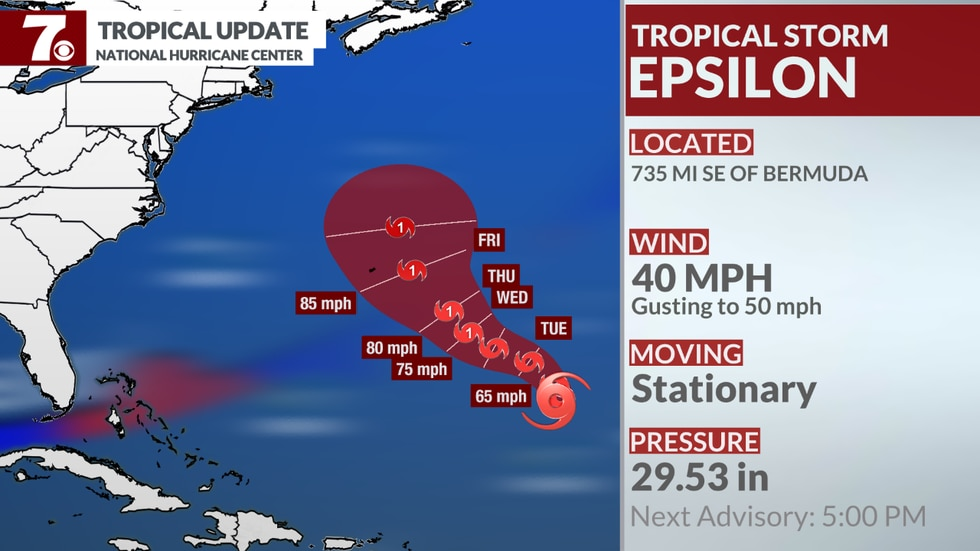 The 26th named storm of the hurricane season formed Monday and is expected to head toward...