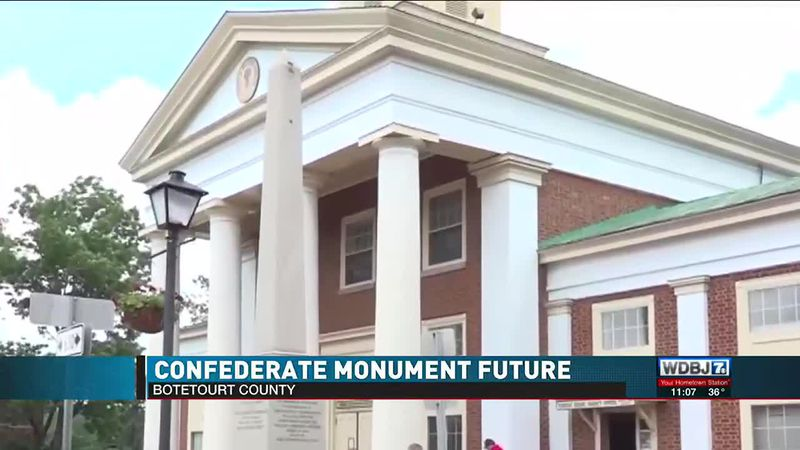 Botetourt County Confederate Monument Update