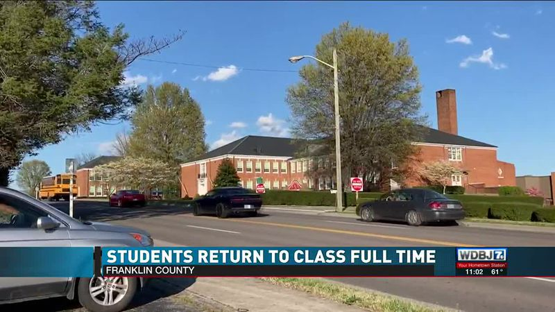 Students Back To Class Franklin County 4.12.21