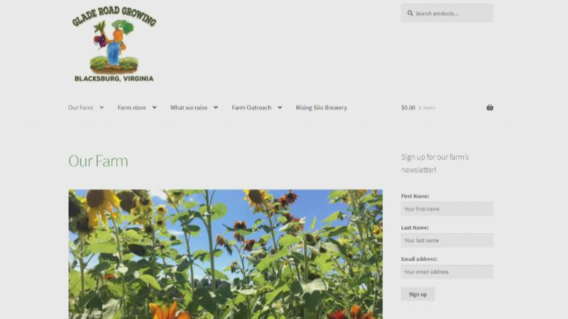Two farms in Blacksburg have found it beneficial to partner with each other to sell food...