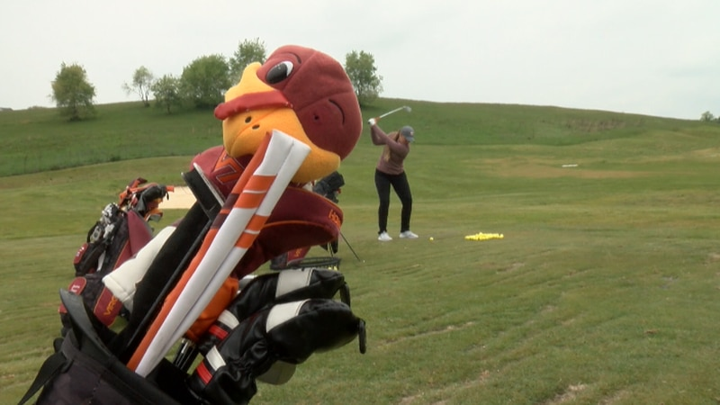 The Virginia Tech women's golf team prepares for its first national championship appearance.