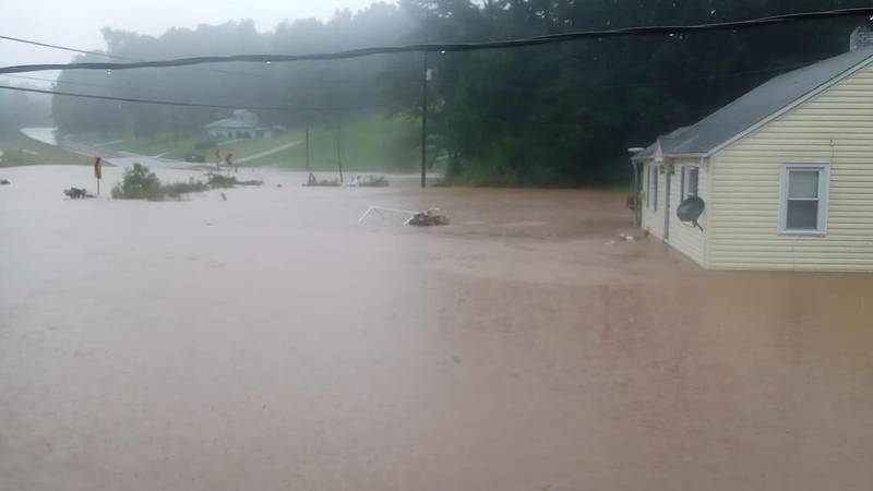 Heavy rainfall has caused flooding in portions of Henry County.