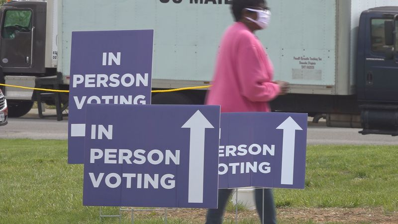 Early voting for the June Democratic primary opened Friday morning across Virginia.