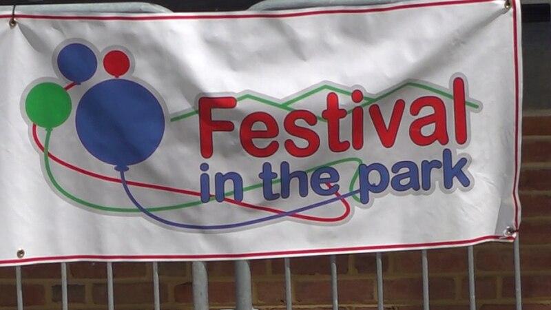 Festival in the Park downtown Roanoke.