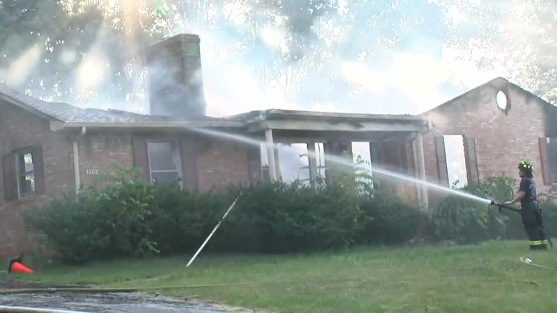 Boones Mill House Fire