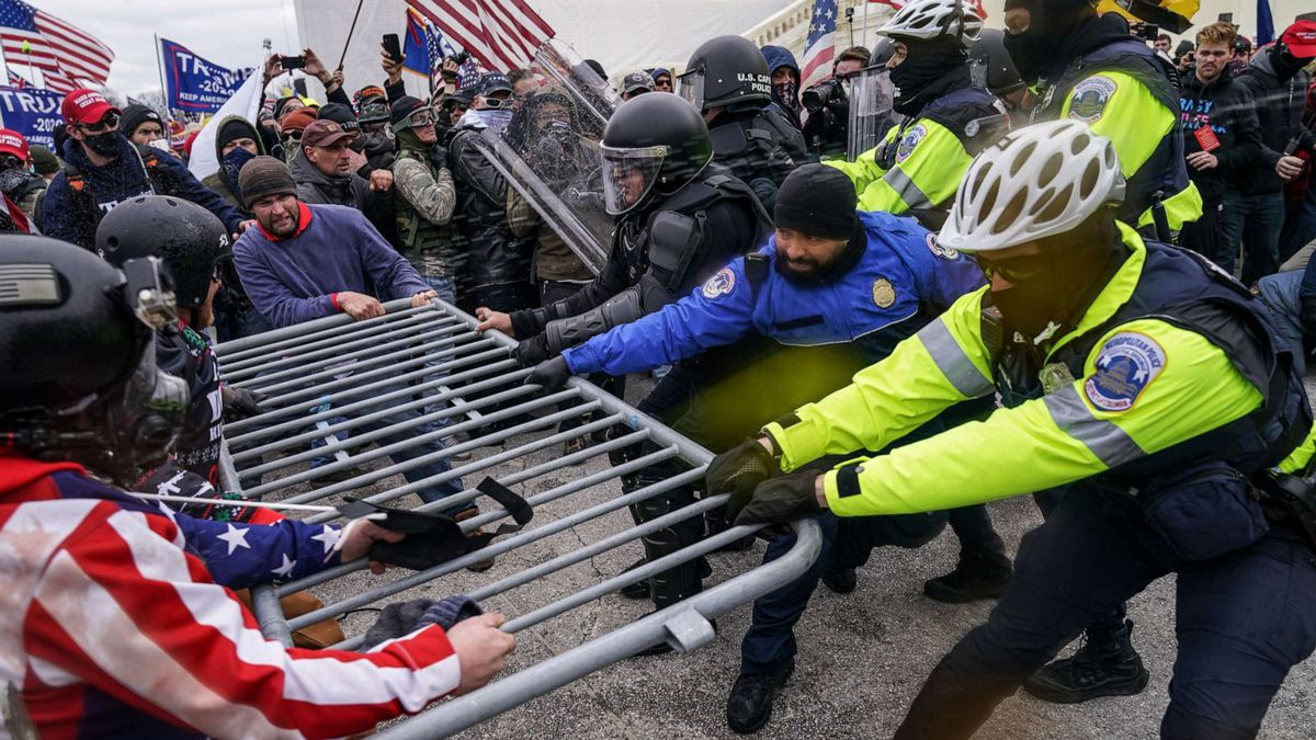 On Jan. 6, rioters coming from a pro-Trump rally broke into the U.S. Capitol, resulting in...