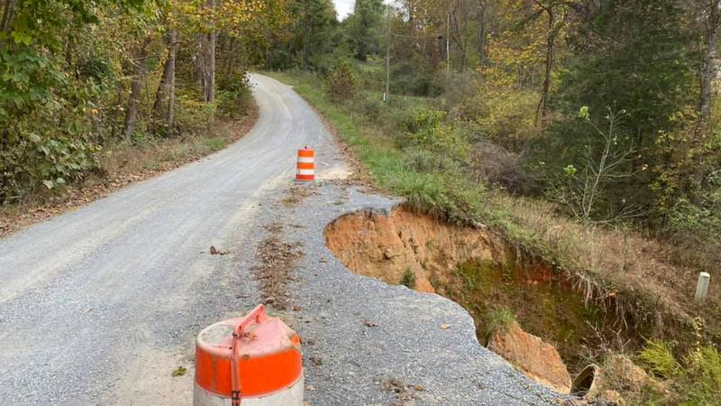 Residents say the section of the street has been dealing with erosion issues for decades.