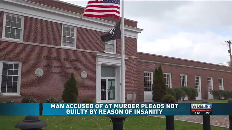 Man Accused of AT Murder Pleads Not Guilty by Reason of Insanity