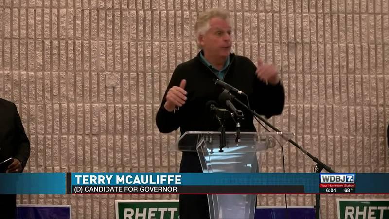 McAuliffe Campaigns