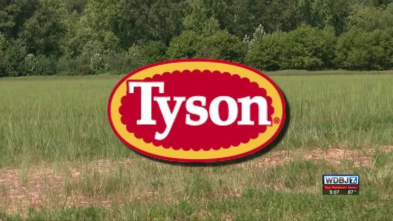 Tyson Foods Facility in Danville-Pittsylvania County