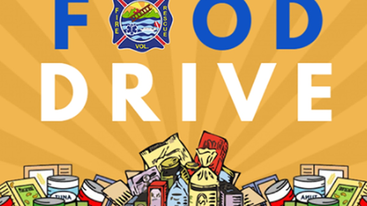 Scruggs Fire and Rescue is holding a food drive February 20