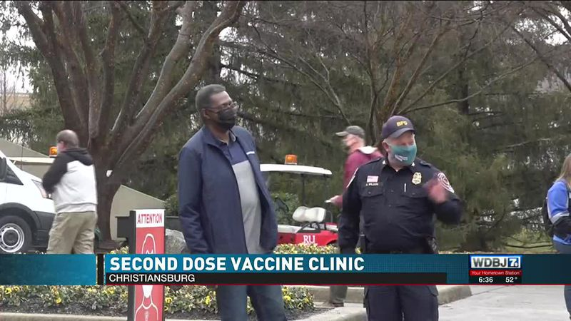 Radford Vaccine Clinic 2nd Dose Saturday