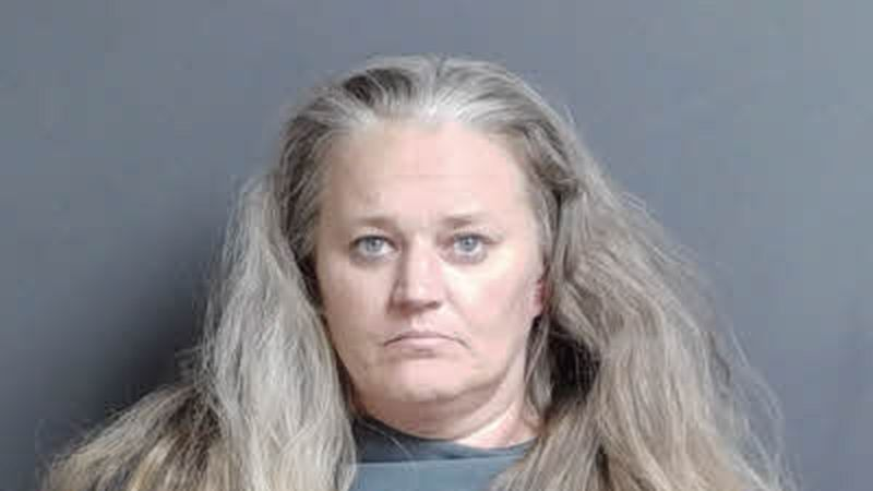 Mugshot of Shirley Sigmon, suspect in robbery of store in Rocky Mount